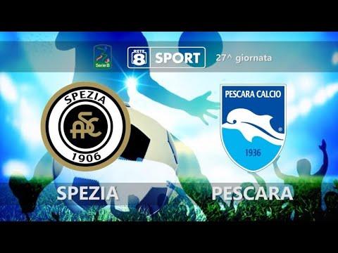 Spezia - Pescara 2-0 - YouTube
