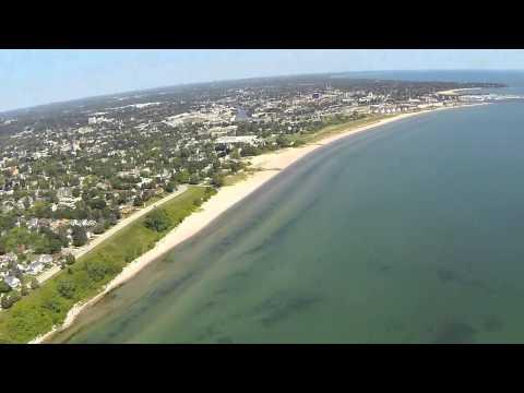 Aerial Video Of Sheboygan, Wisconsin