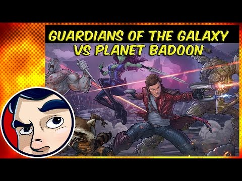 Guardians of the Galaxy VS the Badoon Planet - Complete Story