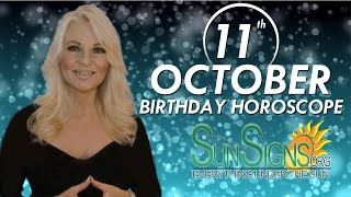 Birthday October 11th Horoscope Personality Zodiac Sign Libra Astrology