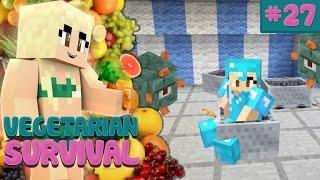 Minecraft Vanilla Vegetarian Survival #27: GUARDIAN FARM + CARNIVAL