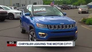Chrysler Name May Be Phased-Out Starting Friday