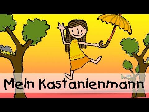 Mein Kastanienmann - Die besten Herbstlieder || Kinderlieder