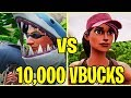 3 GAMES for 10,000 V BUCKS!! - FORTNITE BATTLE ROYALE!