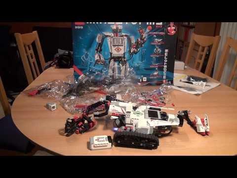 Test Lego Mindstorms EV3: Erste Schritte und der TRACK3R (Set 31313)