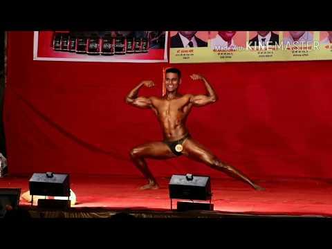 Indian bodybuilder Prathamesh Gandhi Best poser kombdi palali