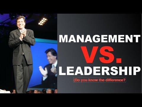 What's the Difference Between MANAGEMENT vs LEADERSHIP?   Leadership Keynote Speaker   Ross Shafer