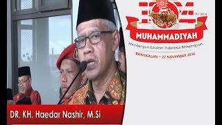 Pidato Milad Muhammadiyah ke-104 di Bangkalan - DR  Haedar Nashir, M Si