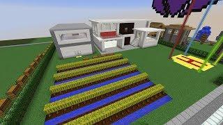 minecraft-บ้านหลังใหม่ของผม