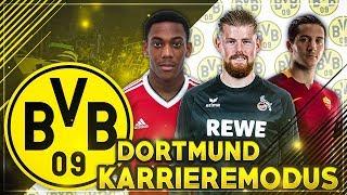 160 MIO FÜR TRANSFERS!! 🔥🔥 MARTIAL, HORN & MANOLAS ZUM BVB!?? 🤔 - FIFA 18 Dortmund Karriere #2