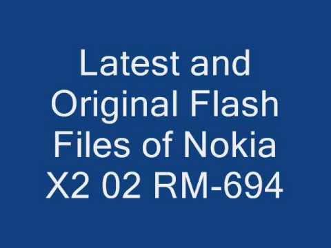 Nokia X2 02 RM-694 V12.04 Flash Files 2013