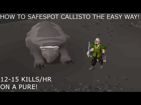 Callisto Safe Spot Guide! Up To 15 Kills An Hour!