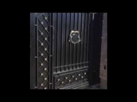 Ковані відкатні ворота Кованые откатные ворота