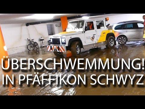 Überschwemmung in Pfäffikon Schwyz / Zürichsee / VLOG 031