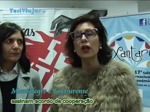 MONTALEGRE - Município assina convénio com Expourense (Espanha)