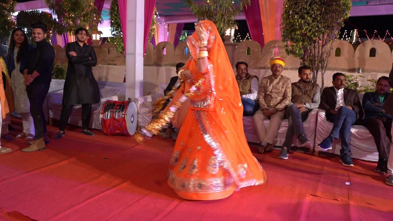 Kesariya Banna Dhundheli।। Ghoomar।।राजपूती डान्स ।। by Prema Ranawat