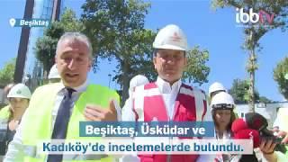 Başkan İmamoğlu Kadıköy'de incelemelerde bulundu