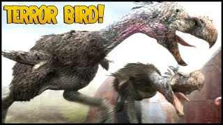 Minecraft: DinoCraft #34 - TERROR BIRD - Pássaro RARO!