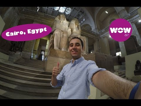 WOW Air Travel Guide Application - CAIRO, EGYPT!