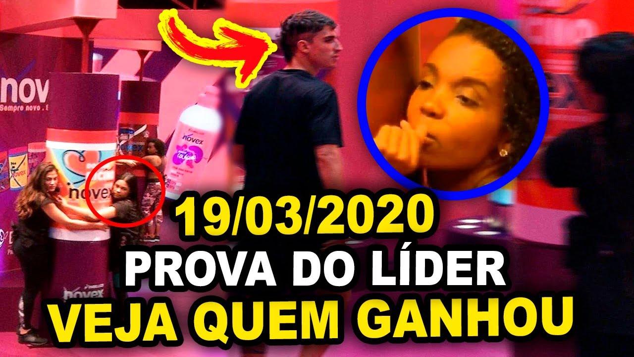 BBB 2020: Veja quem Venceu a Prova do Líder 19/03/2020 ...
