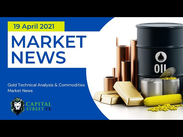 [Gold Price] Technical Analysis & Commodities Market News - April 19, 2021, | Capital Street FX