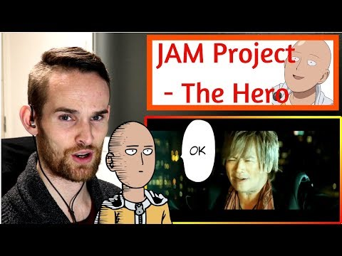 ONE PUNCH MAN REACTION!!! (JAM Project - THE HERO)
