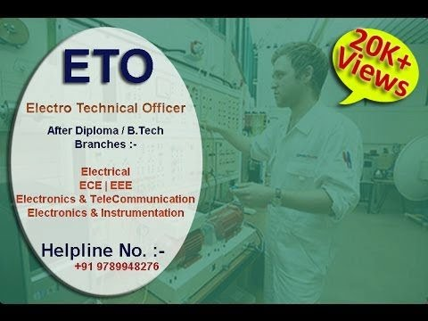 ETO (Electro Technical Officer) Course | Merchant Navy | After Diploma & B.tech