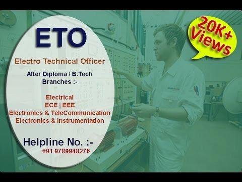 ETO (Electro Technical Officer) Course   Merchant Navy   After Diploma & B.tech