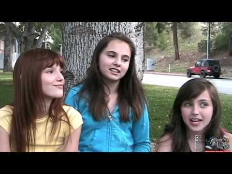 Bella Thorne, Adair Tishler & Ryan Newman