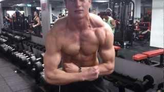 Natural bodybuilder hyperset for delts 2017 Video
