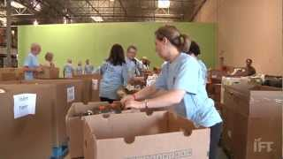 IFT Cares Volunteers at Three Square Food Bank in Las Vegas