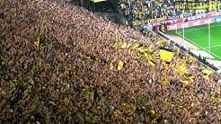Stimmung Südtribüne: Borussia Dortmund vs. Hannover 96 4:1 - BVB Atmosphere 02.04.2011