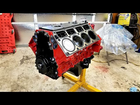 5.3 LS Engine Assembly - 400hp Cammed Silverado Build