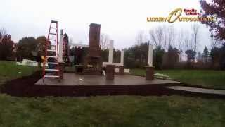 Time-lapse Video | Family Leisure Outdoor Room Build Project