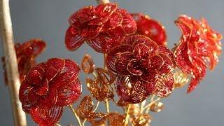 Цветы и деревья из бисера / Beaded Trees and Flowers