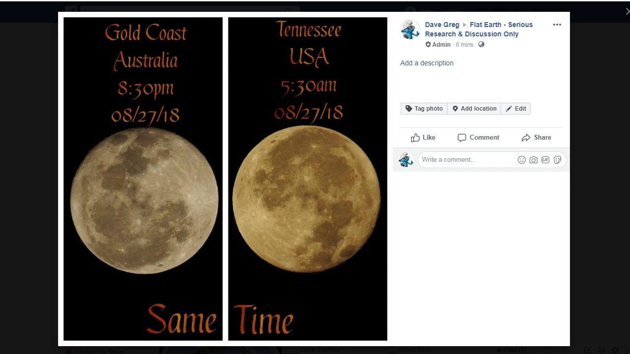 Flat Earth Synchronized Moon Viewing Analysis