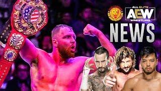 JON MOXLEY CHAMPION! KENTA À LA NJPW! (+ CM Punk, AEW All Out, G1 Climax...)