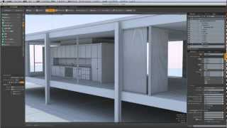 modo実践チュートリアルビデオ デザイナーズハウス編は、modo 601を使っ...
