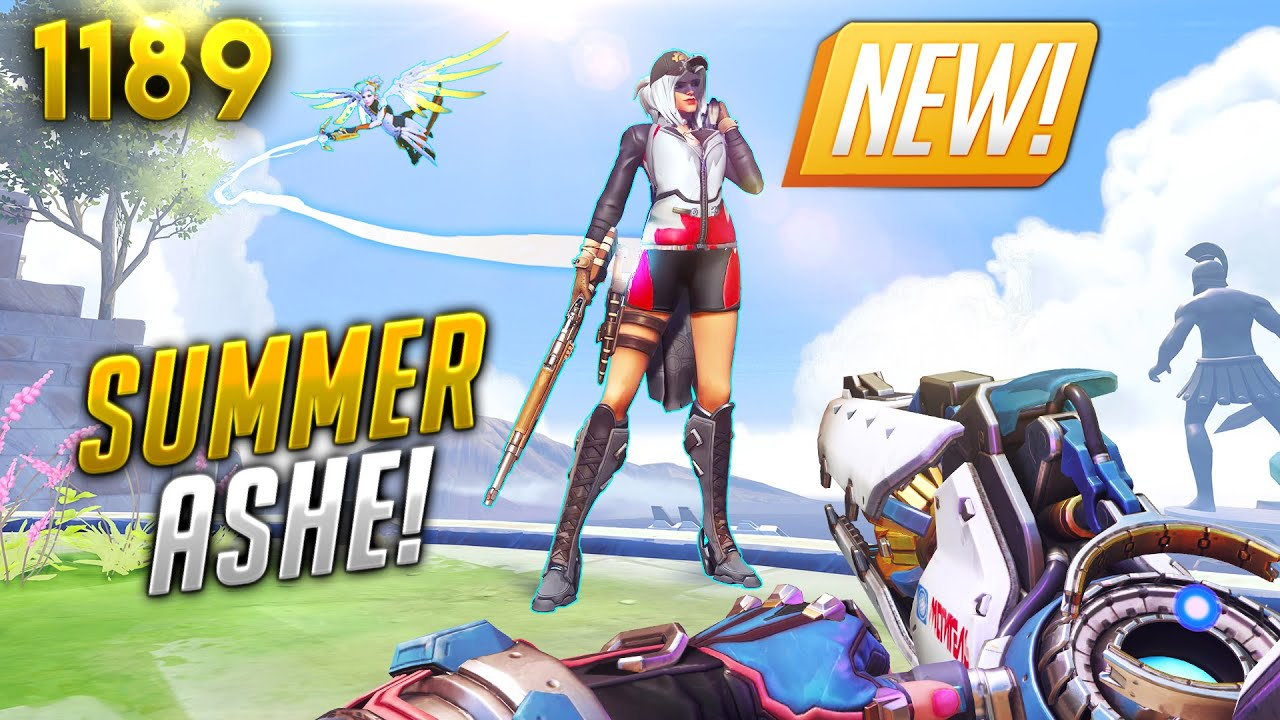 *INSANE* Ashe SUMMER SKIN CONCEPT!! | Overwatch Daily Moments Ep.1189 (Funny and Random Moments)