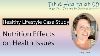 Healthy lifestyle case study 2020 improving health issues with keto diet results