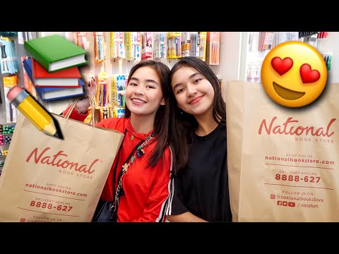Back to School Supplies Shopping 2019! | Princess And Nicole