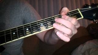 how to play jumping jack flash on guitar lesson tutorial - beginner tutorial guitar lesson HD