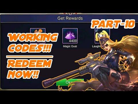Redeem code for mobile legends | Legit 101% | part-10 ...