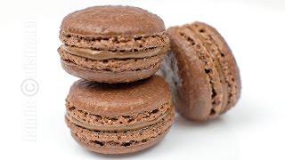 Macarons cu ciocolata | JamilaCuisine