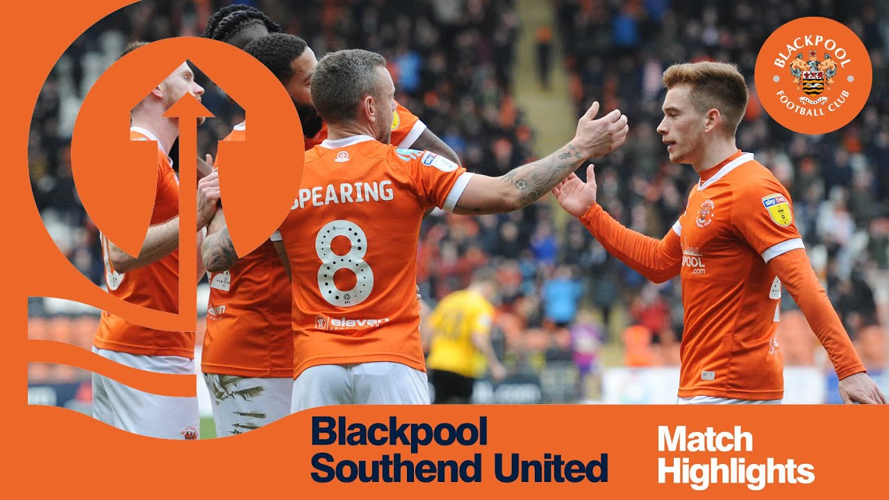 Блэкпул  2-1  Саутенд Юнайтед видео