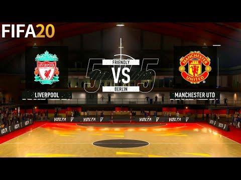 FIFA 20   Liverpool Vs Manchester United - Volta Premier League - Full Match & Gameplay