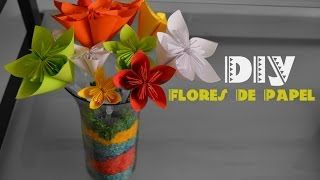 DIY Decora tu Cuarto Flores de papel (Kusudama Flowers )Trendy Wendy Thumbnail