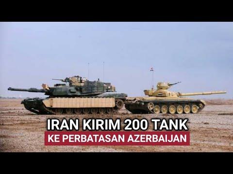 IRAN KERAHKAN 200 TANK KE PERBATASAN, PERANG ARMENIA VS AZERBAIJAN BERLANJUT❓