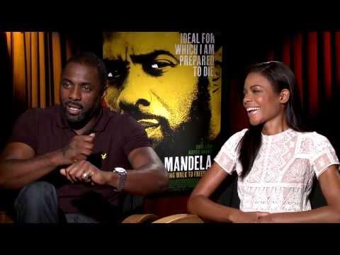 Mandela: Long Walk to Freedom: Idris Elba & Naomie Harris Interview Part 2 of 2