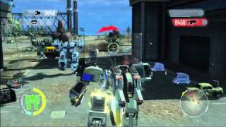 Front Mission Evolved - PC | PS3 | Xbox 360 - developer blog #5 official video game trailer HD
